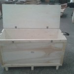 Plywood Timber Frames Hinged Case