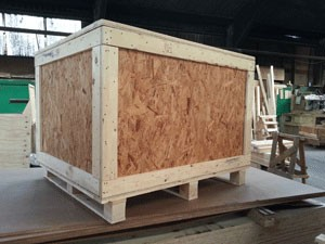 OSB Timber Framed Case