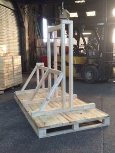 Pallet with Bespoke Support