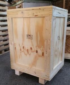 Plywood Timber Framed Case