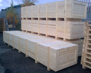 Timber Packing Cases E Hammond