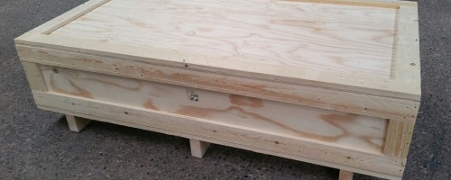 Plywood Timber Framed Packing Case