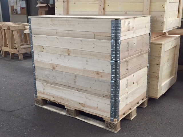 Euro Pallet Collars Pallets And Lids
