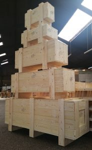 Heat Treated Packing Cases