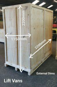 Plywood Liftvan